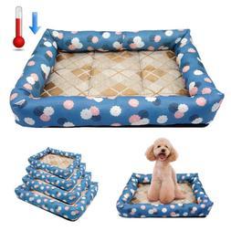 Summer Sleeping Mat for Dog Soft Waterproof Summer Cool Bed