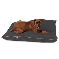 Super Value Pet Dog Bed By Majestic Pet Products Large  Gray