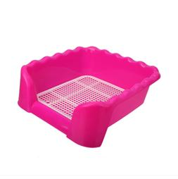 Superior quality Indoor Plastic Fenced Dog Toilet Pet Potty