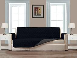"Superior Quality Reversible Couch Cover 110"" X 76""-Furniture"