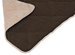 SUV Mat for Dogs in Kensington Walnut Fabric