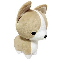 Bellzi Tan Corgi Stuffed Animal Plush Toy - Adorable Plushie