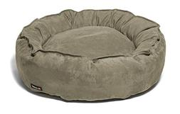 The Shrimp Team 4823 Large Nest Bed in Stone Suede