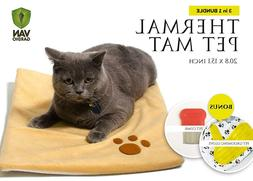 Thermal Mat - Self Warming Heating Pad for Pets Cat and Dog