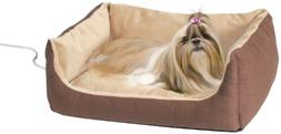 K&H Pet Products Thermo-Pet Cuddle Cushion Heated Pet Bed Mo