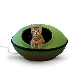 """K & H Pet Products Thermo-Mod Dream Pod, Green/Black, 22"""", 4"""