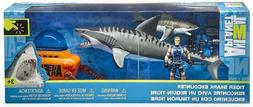 Animal Planet Tiger Shark Encounter Playset, Mechanical Jaw
