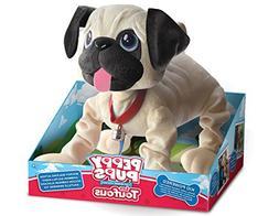 "Snuggle Pets ""Peppy Pups Pug"" Toy"
