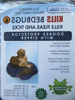 ECO SEAL Treated Fabric Kills Bed Bugs Flea Ticks Dog Bed Pr