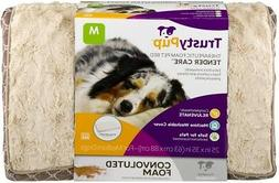Trusty Pup Therapeutic Foam Bed Brown Medium