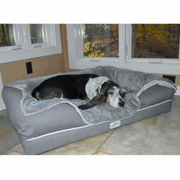 PetFusion Ultimate Dog Bed Lounge. . Premium Edition w Solid