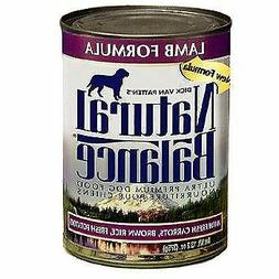 Natural Balance 13 oz Ultra Premium Lamb Formula Canned Dog