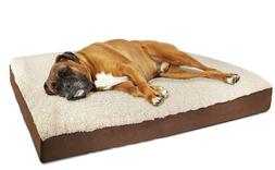 OxGord Medium Ultra Plush Delux Ortho Pet Bed
