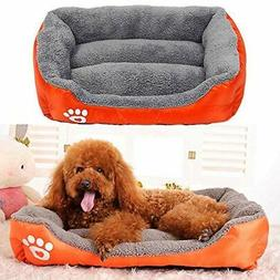 US Stock Pet Dog Cat Bed Puppy Cushion House Soft Sofa Warme