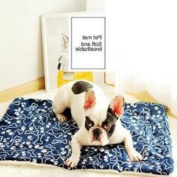 US Pet Dog Cat Rabbit Soft Room Dining Hall Warm Bed Mat Shi
