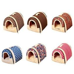 Winter Pet Dog House Kennel Soft Bed Cave Puppy Cat Puppy Be