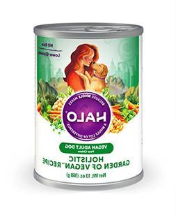 Halo Vegan Natural Wet Dog Food, Garden of Vegan Recipe, 13-