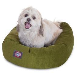 Majestic Pet Villa Micro-Velvet Bagel Dog Bed