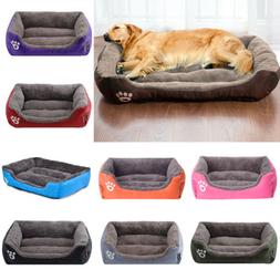 Warm Pet Dog Large Bed Cushion Kennel Cat Mat Sleeping Blank