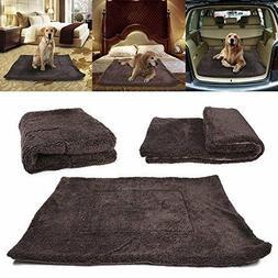Waterproof Warm Soft Fleece Pet Blanket Large Cat Dog Kennel