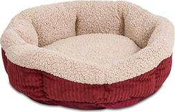 "Warm Spice, Creme Self Warming Cat Bed, 19"" Aspen Pet Pet Su"