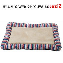 washable pet bolster bed crystal velvet comfortable