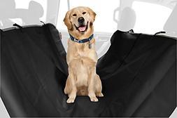 ASPCA Water Resistant Pet Car Seat Cover & Free Travel Bowl,