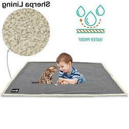 Waterproof Dog Blanket,Premium Pet Puppy Cat Soft Fleece She