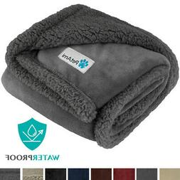 WATERPROOF Dog Blanket for Small Dog Puppy Cat Throw Reversi