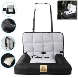 Waterproof Dog Cat Booster Car Seat Belt Carrier Bed For Sma