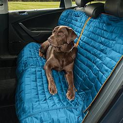 Kurgo Waterproof Loft Bench Seat Cover for Dogs, Blue / Gray
