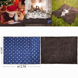 Waterproof Pet Bed For Dog Cat Crate Mat Soft Warm Pad Liner