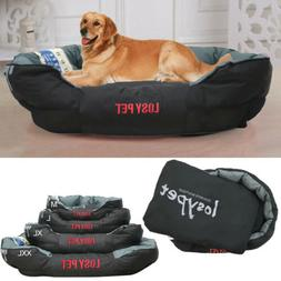 Waterproof Pet Bed Washable Heavy Duty Dog Bed &Pillow fr La