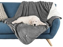 "Waterproof Pet Blanket-50""x 60"" Soft Plush Throw Protect"