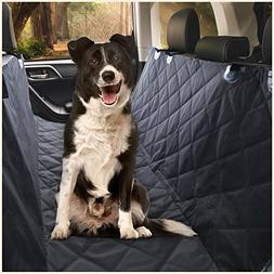 Ess & Craft Waterproof Pet Car Rear/Back Seat Cover, Hammock