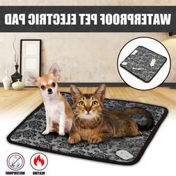 Waterproof Pet Heated Warmer Bed Pad Puppy Dog Cat Bed Mat E
