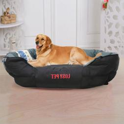 Waterproof Pillow Sofa Dog Bed Pet Bed Cushion Mat Durable &