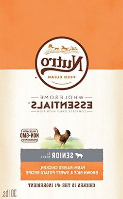 Nutro Wholesome Essentials Senior Dry Dog Food Farm-Raised C