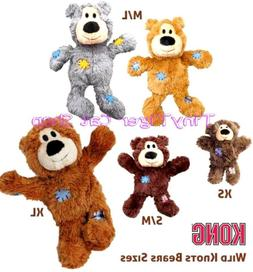 Kong Wild Knots Bear Dog Puppy Toy small medium large extra