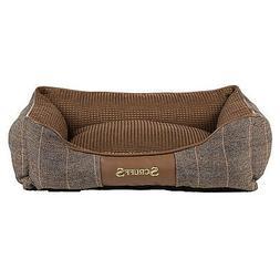 Scruffs Windsor Box Unisex Pet Accessory Dog Bed - Chestnut