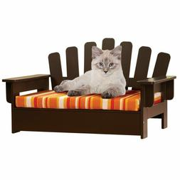 Wooden Pet Sofa Chair Bed Dog Cat Indoor Outdoor Reversible