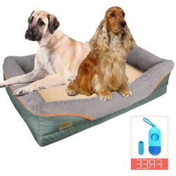 XXL Orthopedic Dog Bed Pet Lounger Deluxe Cushion for Crate