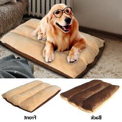 Extra Large Soft Dog Bed Pet Cushion Mattress Soft Crate Mat