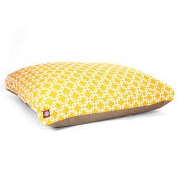 Yellow Links Extra Large Rectangle Indoor Outdoor Pet Dog Be