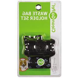 Clean Go Pet ZW4641 17 Bone Waste Bag Holder Black